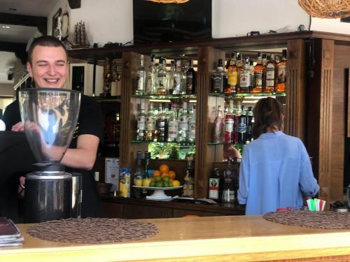 Фоайе или бар в Бахами Резиденс