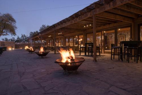 Um restaurante ou outro lugar para comer em Hotel Cumbres San Pedro de Atacama