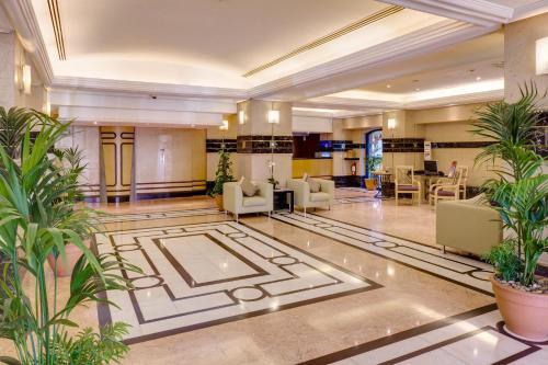 The lobby or reception area at Novel Hotel City Center