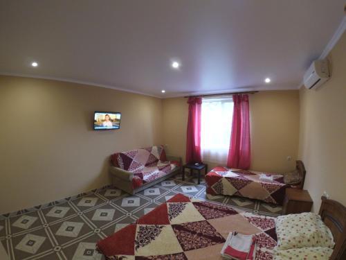 Гостиная зона в Гостевой дом «Берег»