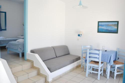Χώρος καθιστικού στο Galeana Beach Hotel