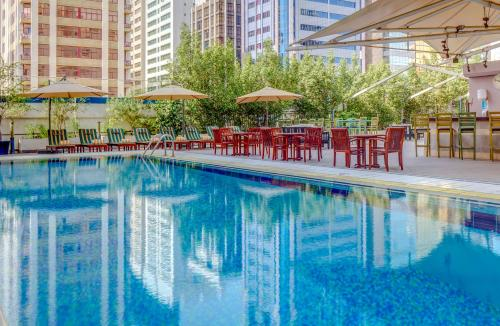 The swimming pool at or near Novel Hotel City Center
