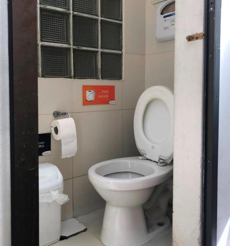 A bathroom at Onkel Inn