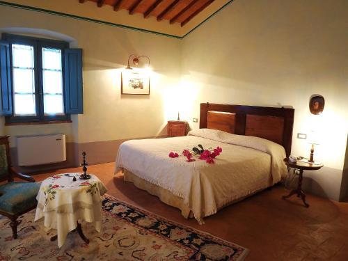 Letto o letti in una camera di Cortona Resort-Le Terre Dei Cavalieri