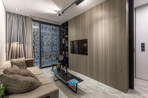 A television and/or entertainment centre at The Duke Boutique Suites