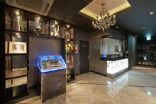 The lobby or reception area at HOTEL TIARA (Adult Only)