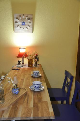 Dining area in the hostel