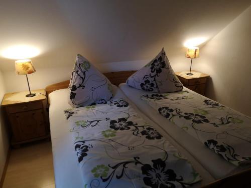 Ein Bett oder Betten in einem Zimmer der Unterkunft Frische Brise