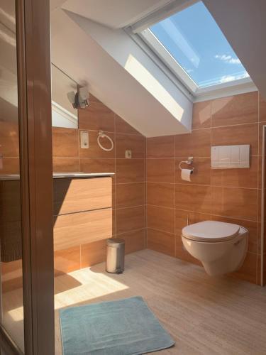 Ein Badezimmer in der Unterkunft Windhör