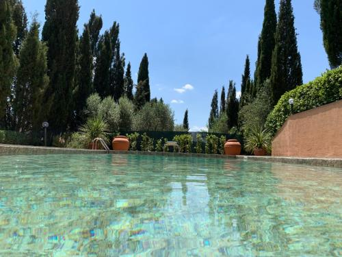 The swimming pool at or near Podere Il Chiassale