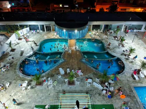 A view of the pool at Apartamento Aquarius Residence or nearby