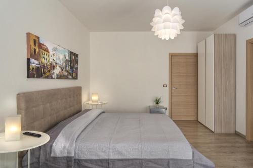 Cama o camas de una habitación en La Candelaria