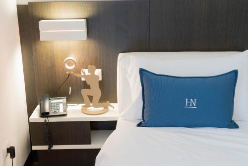 Cama o camas de una habitación en Hotel Nazionale