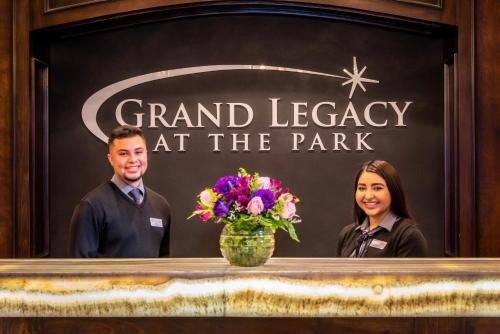 Staff members at Grand Legacy At The Park