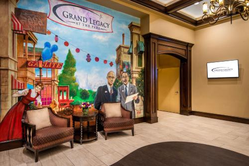 The lobby or reception area at Grand Legacy At The Park