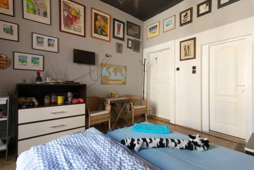Mini home hostel Jb TV 또는 엔터테인먼트 센터