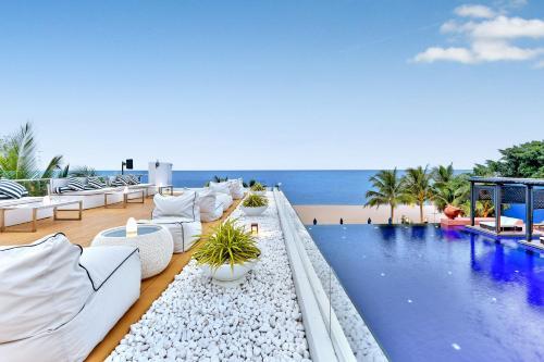 The swimming pool at or close to Ace of Hua Hin Resort