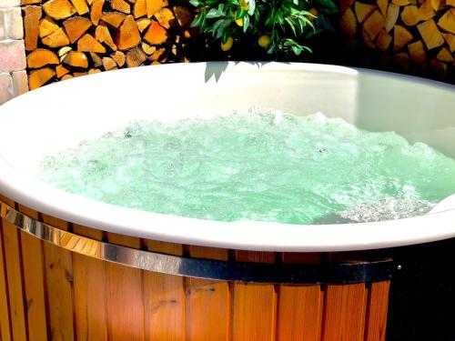Spa and/or other wellness facilities at Exklusives Alpenchalet
