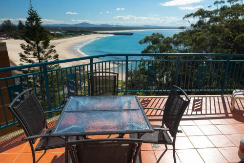 A balcony or terrace at Whitesands Penthouse 1
