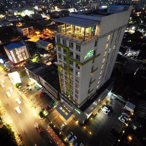 A bird's-eye view of Whiz Prime Hotel Ahmad Yani Lampung