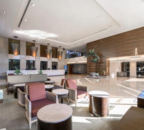 煙波大飯店新竹湖濱館酒吧或休息區