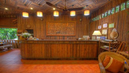The lobby or reception area at Palm Village Resort & Spa