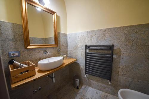 A bathroom at Il Sogno di Annalisa Suite