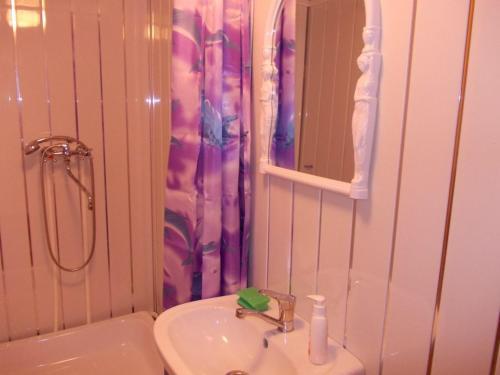 Ванная комната в Гостиница Евразия
