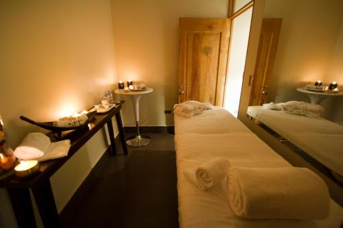 Cama o camas de una habitación en Casa Bueras Boutique Hotel