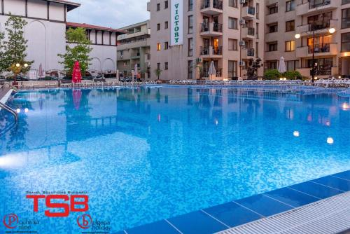 The swimming pool at or close to TSB Sunny Victory Apartments