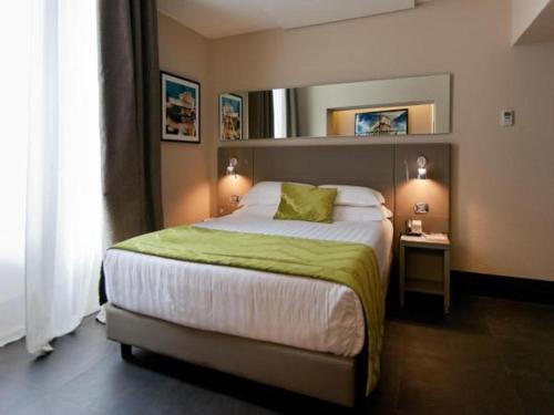 Cama o camas de una habitación en Quirinale Luxury Rooms
