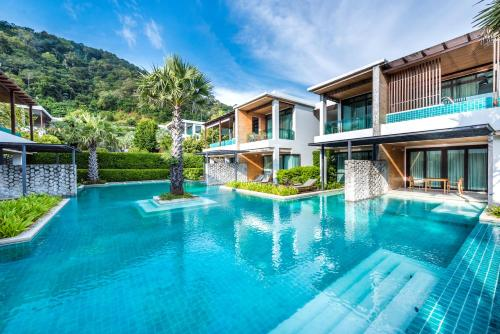 The swimming pool at or near Wyndham Sea Pearl Resort, Phuket
