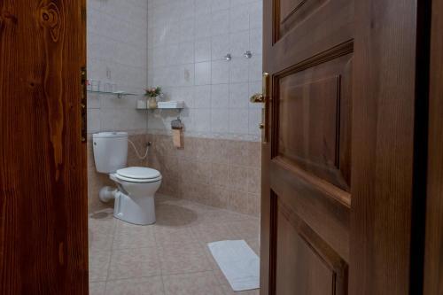 Ein Badezimmer in der Unterkunft Penzion U Hrádku