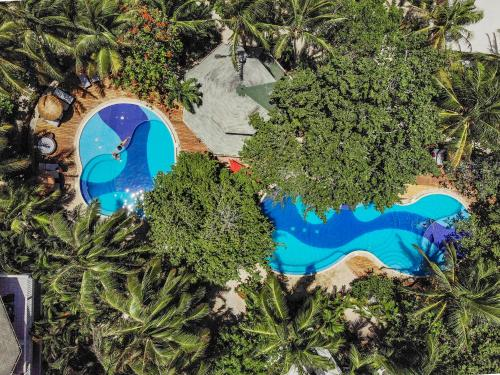 A view of the pool at Paradise Beach Hotel or nearby