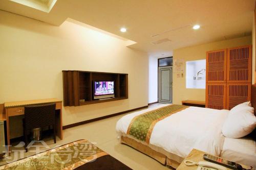 澄園旅店電視和/或娛樂中心