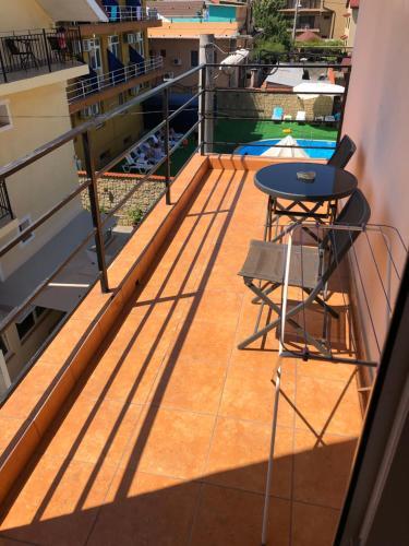 Un balcon sau o terasă la Vila Orient 2