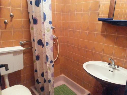 A bathroom at Guesthouse Curin