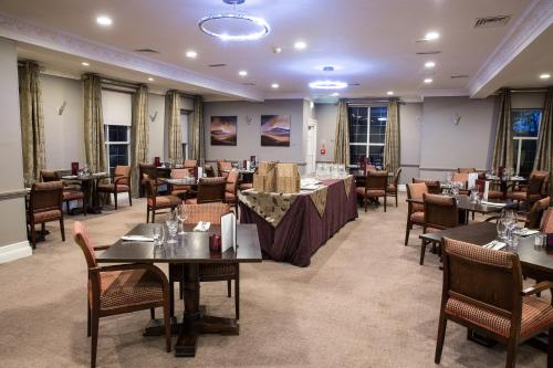 A restaurant or other place to eat at Crabwall Manor Hotel & Spa