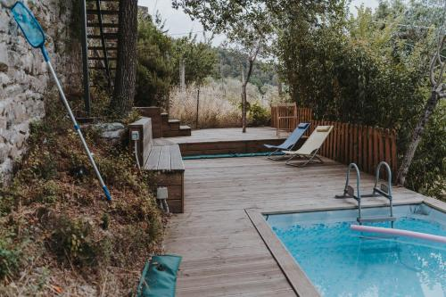 The swimming pool at or near Ostello Bello Assisi Bevagna