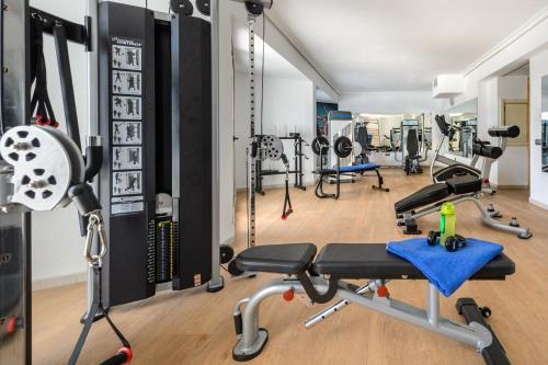 Gimnasio o instalaciones de fitness de Hotel Playasol San Remo