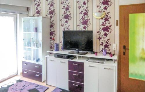 TV/Unterhaltungsangebot in der Unterkunft Holiday Home Dubekevitz 02