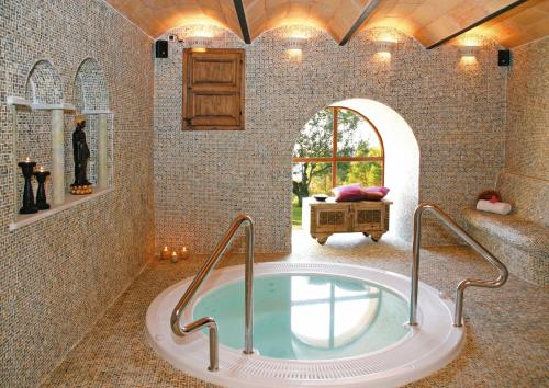 The swimming pool at or near Hotel Golf Can Rafel