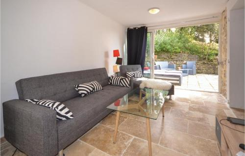 A seating area at One-Bedroom Holiday Home in Bollene