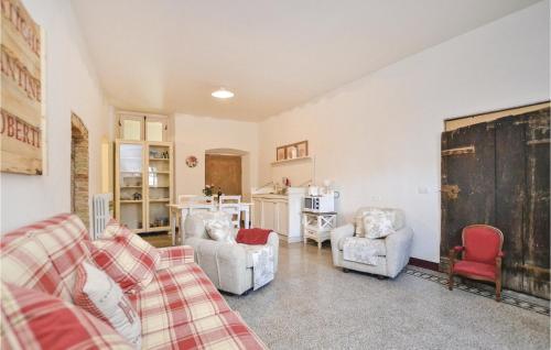 Area soggiorno di Apartment Casa Nonno Orazio