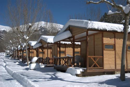 Camping L'Espelt during the winter