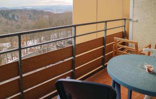 Ein Balkon oder eine Terrasse in der Unterkunft One-Bedroom Apartment in Freyung
