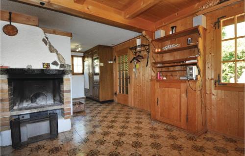 Küche/Küchenzeile in der Unterkunft Chalet Hochmatt