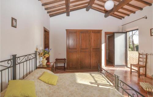 Area soggiorno di Two-Bedroom Holiday Home in Montepulciano (SI)