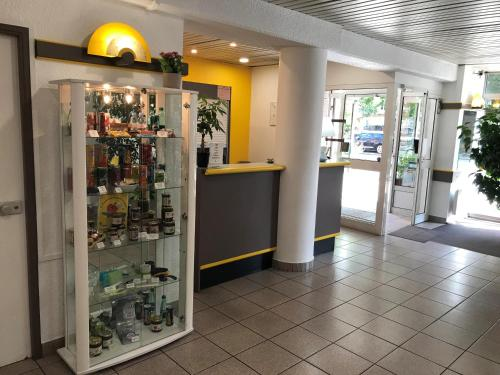 The lobby or reception area at Egg Hôtel Dieppe Centre Ville
