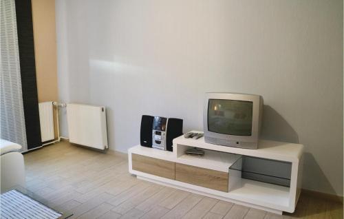TV/Unterhaltungsangebot in der Unterkunft Apartment Birkenallee X